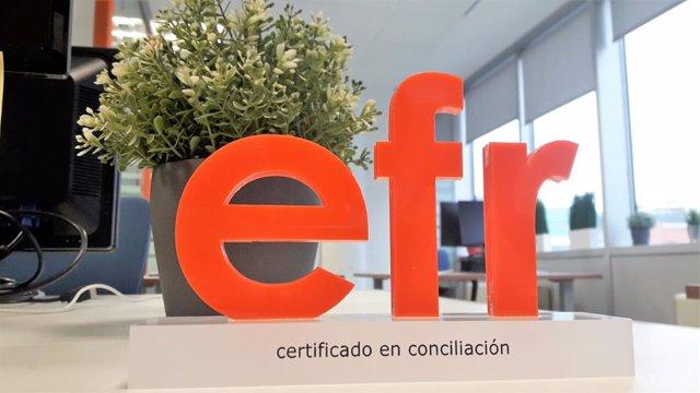Certificat Efr que ha obtingut CaixaBank