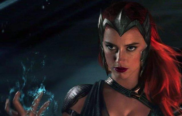 Amber Heard es Mera en la saga Aquaman 2