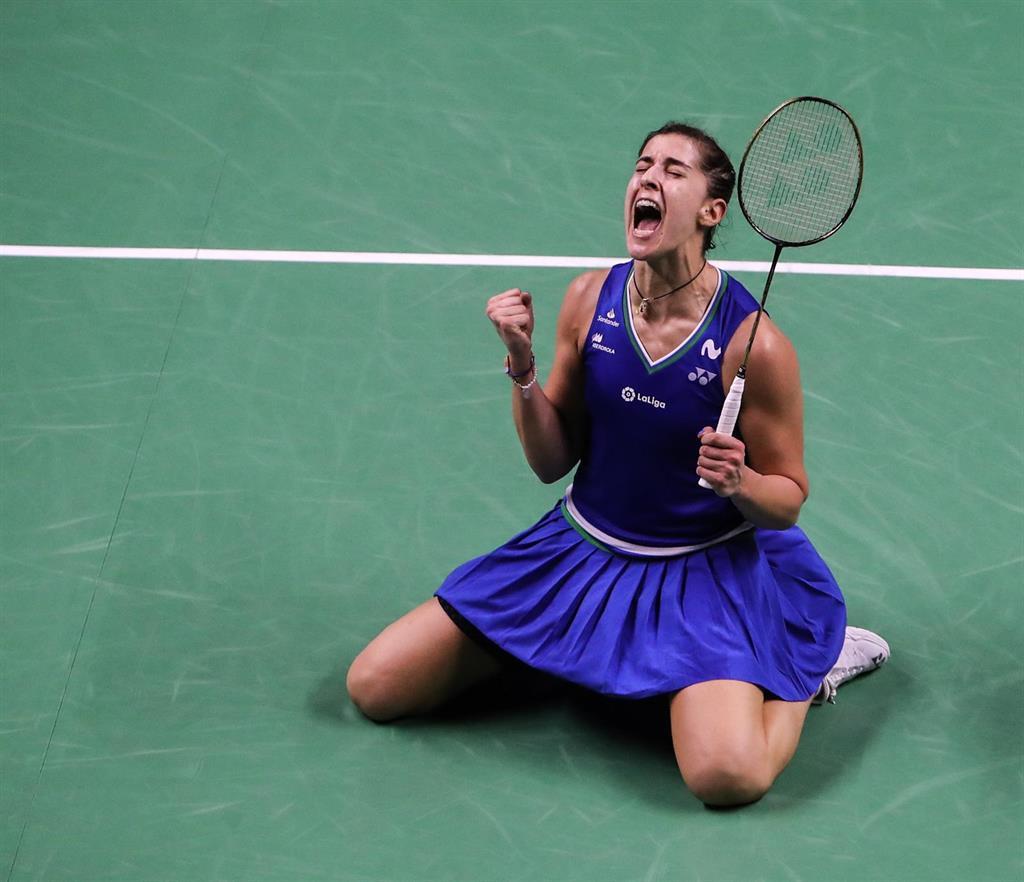 Carolina Marín conquista en el Abierto de Suiza su tercer título de 2021