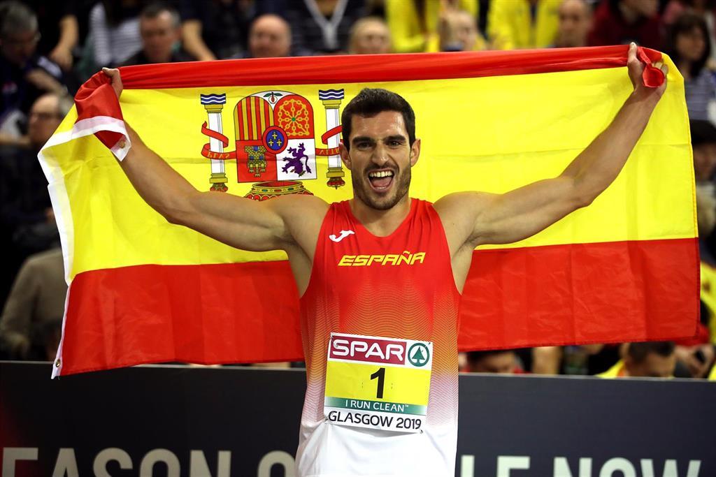 Los españoles Jorge Ureña y Adel Mechaal, plata y bronce europeos