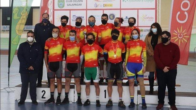 Campeonato de España de Ciclismo Adaptado en Pista 2021