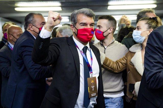 Joan Laporta, elegido nuevo presidente del FC Barcelona