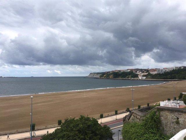 Archivo - Previsiones meteorológicas del País Vasco para hoy, día 2