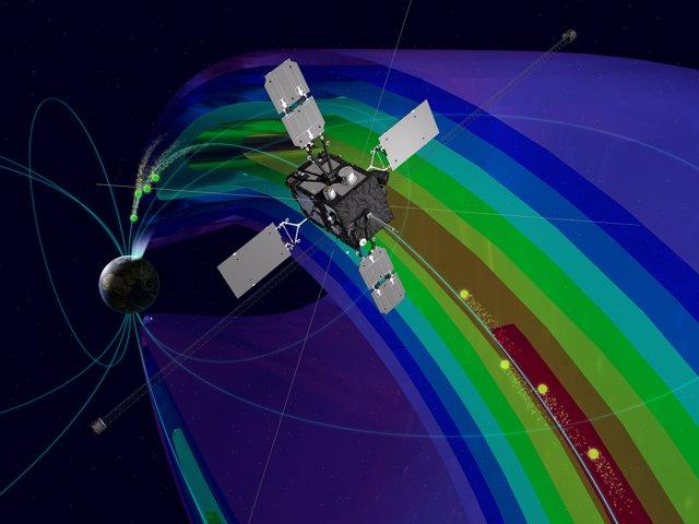 El satélite Arase capturó datos sobre electrones acelerados desde alturas muy elevadas.