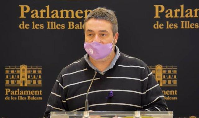 El diputado de MÉS per Mallorca Joan Mas 'Collet'.