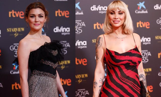 Marta Nieto y Daniela Santiago responde a los comentarios machistas en la alfombra roja de los Goya