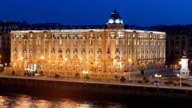 Archivo - Hotel María Cristina de San Sebastián