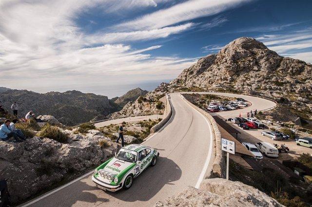 Archivo - Imagen de la competición el Rally Clásico de Mallorca.