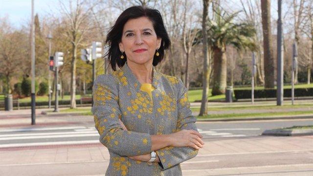 Archivo - La eurodiputada del PNV, Izaskun Bilbao Barandika