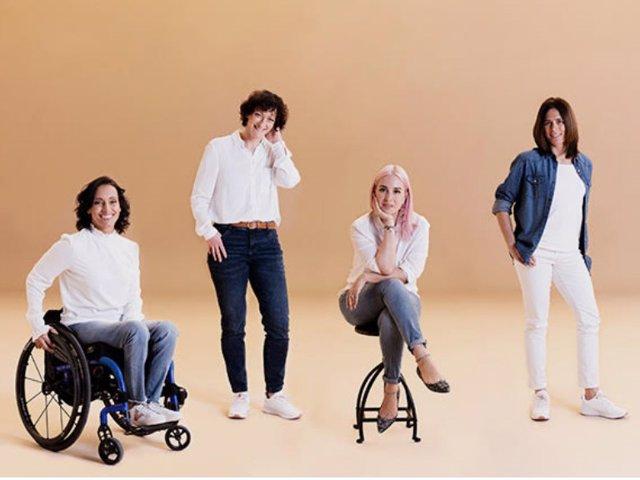 Teresa Perales, María Dolores GImeno, Daniela Gutiérrez y Edurne Pasabán, protagonistas de la nueva campaña inspiracional de C&A con motivo del Día de la Mujer