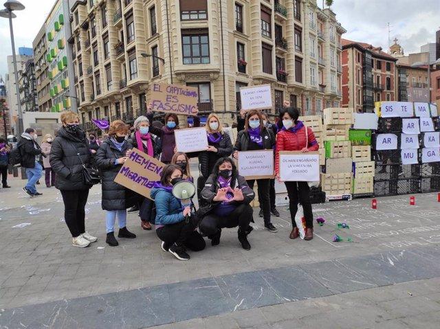 Concentración del Movimiento Feminista, este lunes en Bilbao