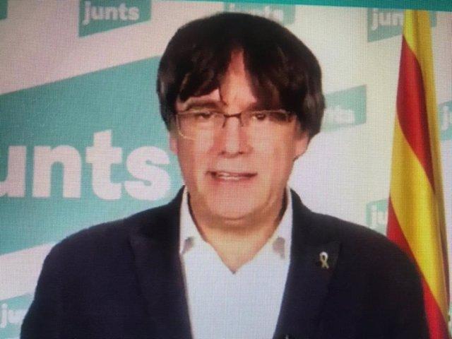 España.- Ponente sobre el suplicatorio de Puigdemont en la Eurocámara propone levantar su inmunidad como pide el Supremo