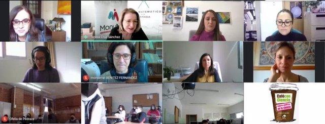 Actividad 'Café con Ciencia. Mujeres andaluzas en la ciencia'.