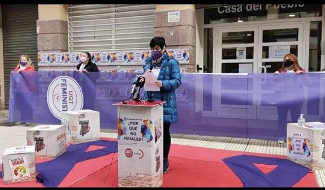 UGT ha celebrado un acto conmemorativo del Día de la Mujer