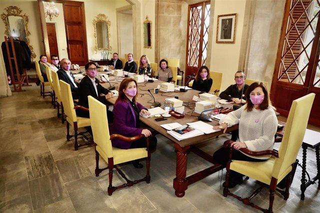 Reunión del Consell de Govern.