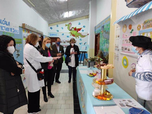 El centro Molinos del Guadaíra atiende a 113 personas con distintas discapacidades.