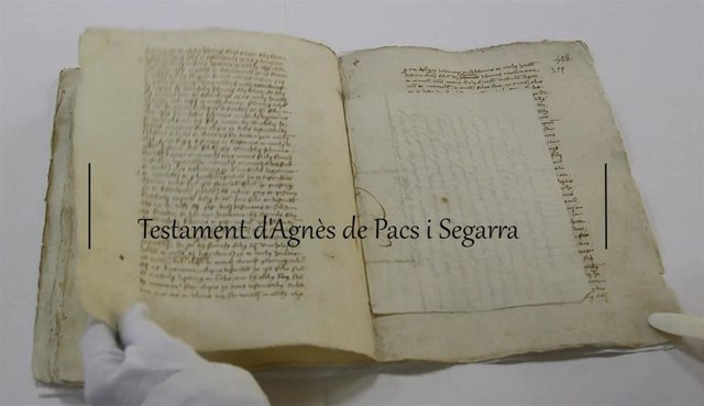 Ejemplar del Archivo del Reino de Mallorca.