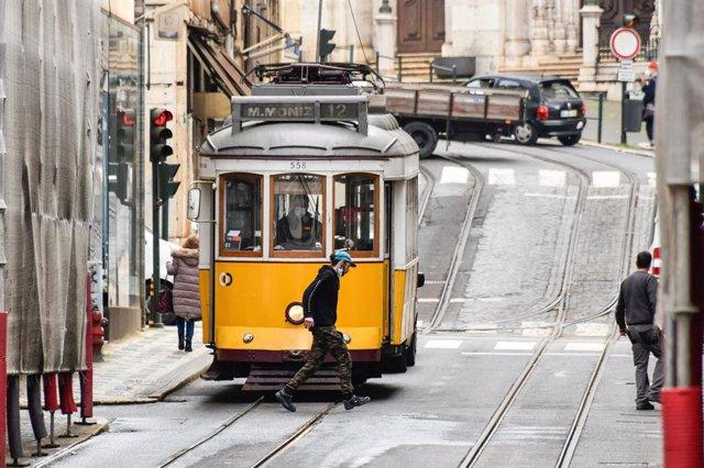 Barrio de Baixa, en Lisboa.