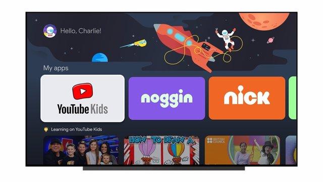 Perfiles para niños en GoogleTV
