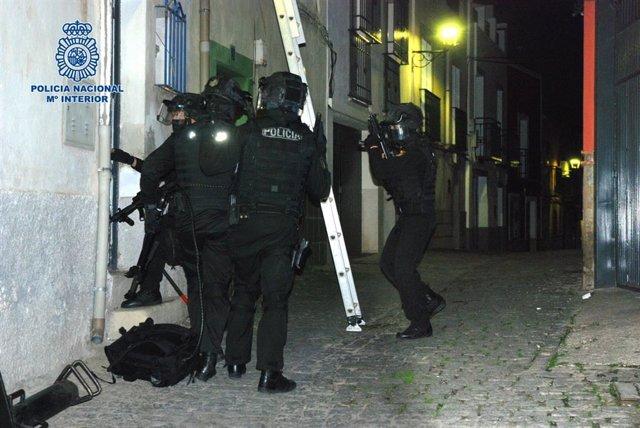 Registros efectuados en Jaén
