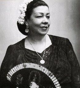 Pastora María Pavón Cruz, 'La Niña de los Peines', para la que Palem pide la 'Llave de Oro del Cante'.