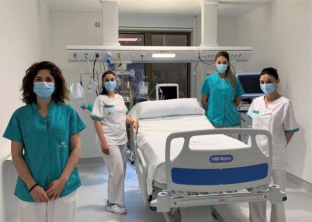 Profesionales de Enfermería del Hospital Quirónsalud Córdoba.