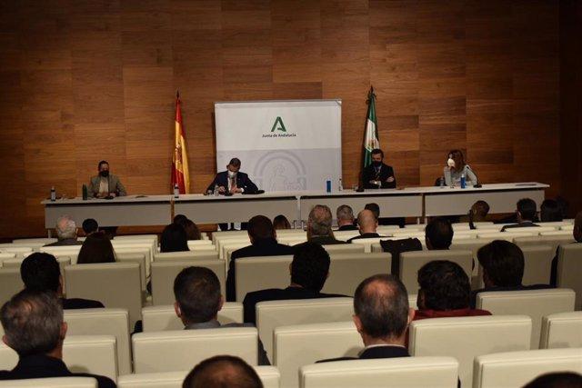 Encuentro sobre el Fondo de Desarrollo Urbano.