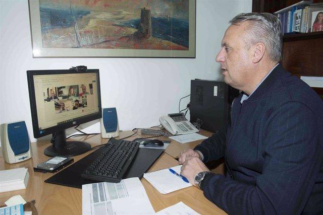 Juan Carlos Ruiz Boix, responsable del área de Servicios Económicos de Diputación