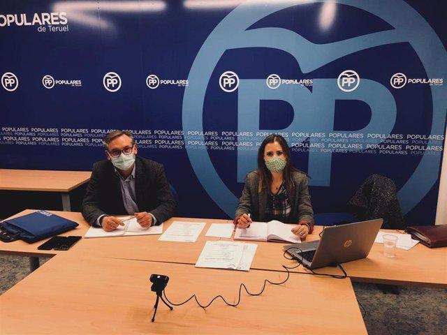 Joaquín Juste ha presidido la reunión del Comité Ejecutivo Provincial del PP.
