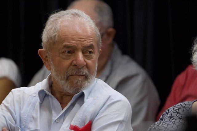 Archivo - El expresidente de Brasil, Lula da Silva
