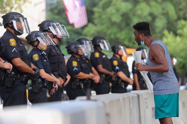 Archivo - Protesta en EEUU tras la muerte de George Floyd a manos de la Policía