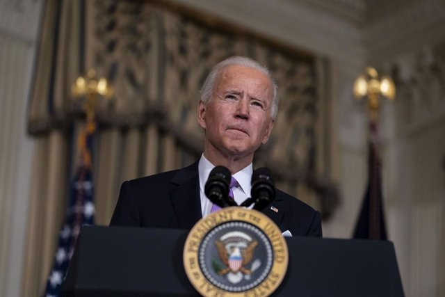 Archivo - Joe Biden, presidente de Estados Unidos