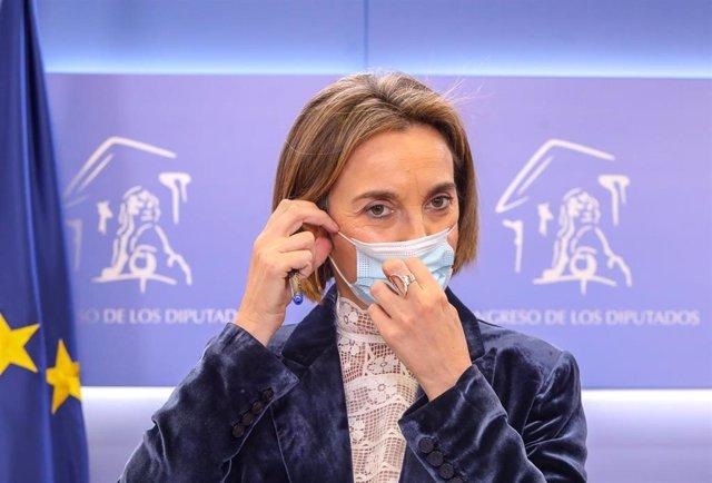 La portavoz del PP en el Congreso de los Diputados, Cuca Gamarra.