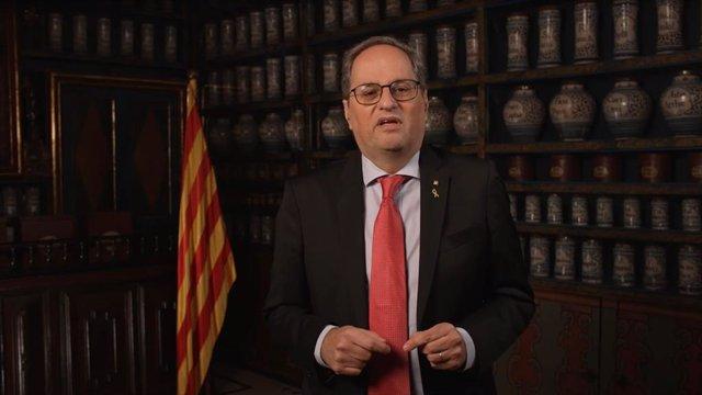 Archivo - El expresidente de la Generalitat Quim Torra.