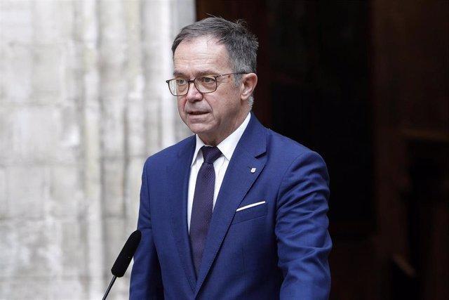 El conseller de Movilidad y Vivienda del Govern balear, Josep Marí.
