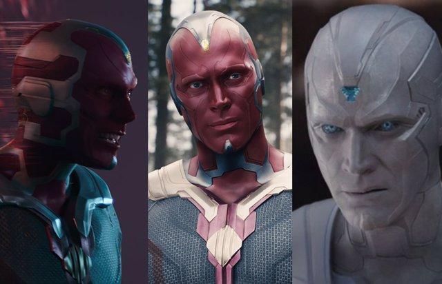 WandaVision: Las 3 versiones de Visión en el Universo Marvel, explicadas