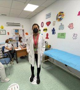 La doctora Jazmín Saldivar