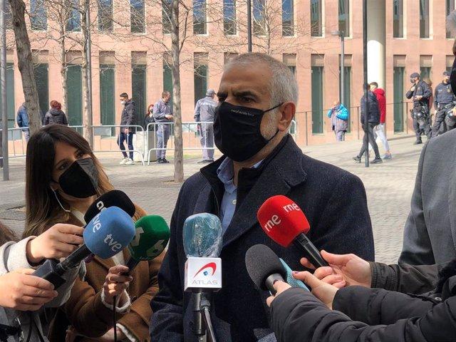 El líder de Cs en Catalunya, Carlos Carrizosa