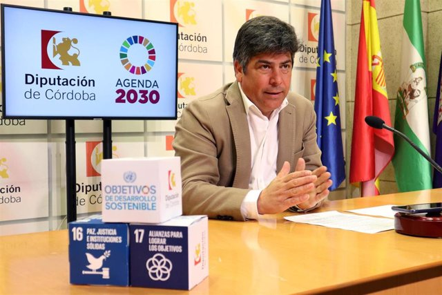 Archivo - El delegado de Consumo, Participación Ciudadana y Protección Civil en la Diputación de Córdoba, Rafael Llamas