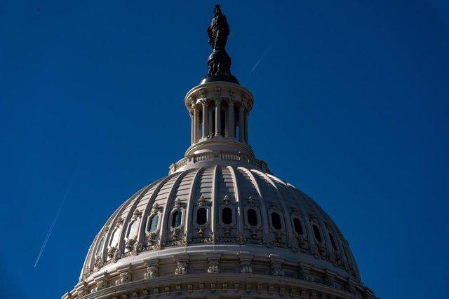El Capitolio federal en Washington, Estados Unidos