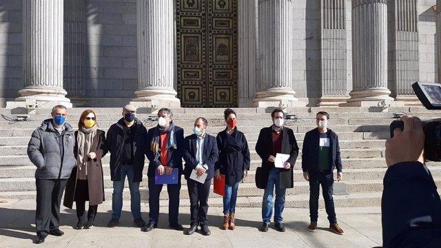 Associacions per la normalització lingüística davant el Congrés
