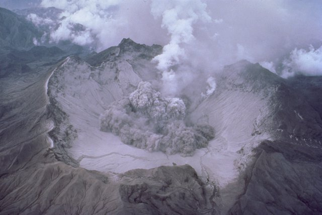 Cráter del Monte Pinatubo