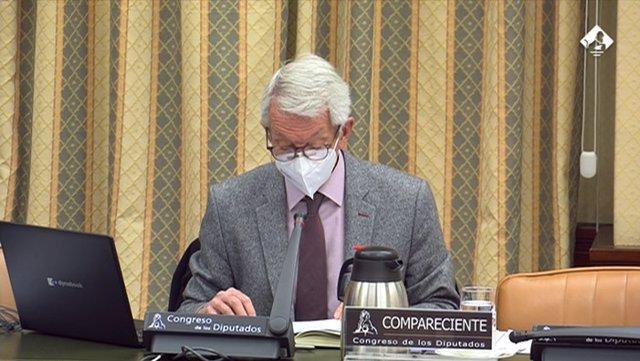 El secretario de Estado de Educación, Alejandro Tiana, en la Comisión de Educación y FP del Congreso de este martes 9 de marzo