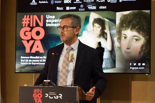 El delegado territorial de Turismo de la Junta en Granada, Gustavo Rodríguez
