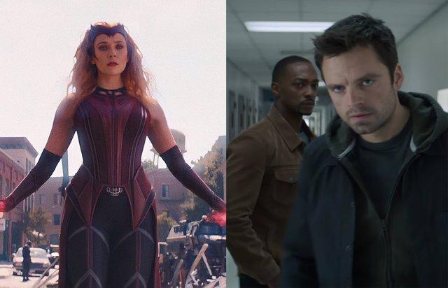 Falcon y el Soldado de Invierno tomará el relevo de WandaVisioin (Bruja Escarlata y Visión) en Disney+
