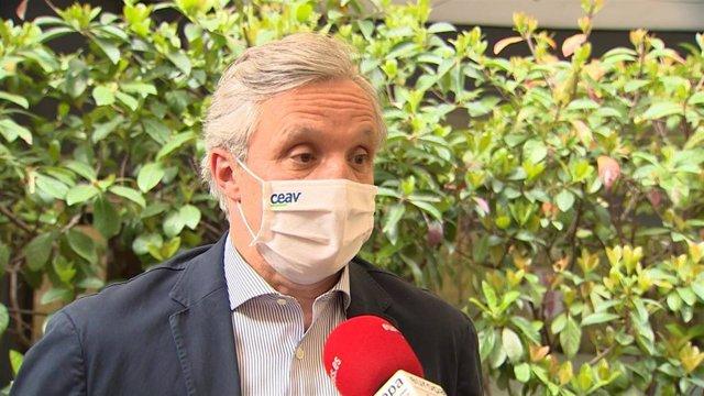 Presidente de CEAV, Carlos Garrido