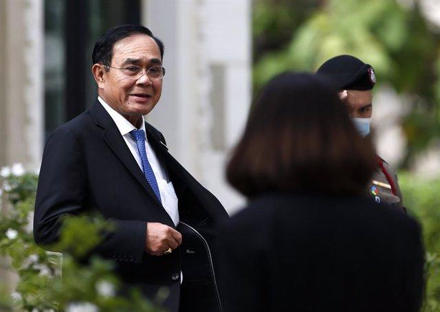 Archivo - El primer ministro tailandés, Prayuth Chan Ocha.