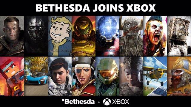 Xbox completa la compra de Bethesda.