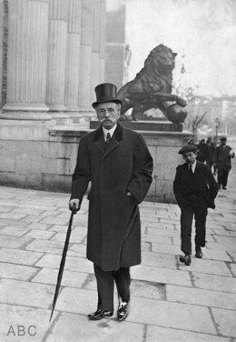 Eduardo Dato, líder del Partido Conservador, presidente del Gobierno y del Congreso a principios del siglo XX