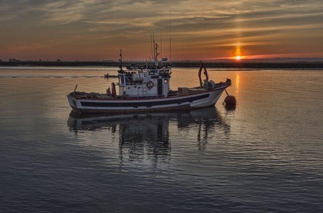 Un barco de pesca sostenible